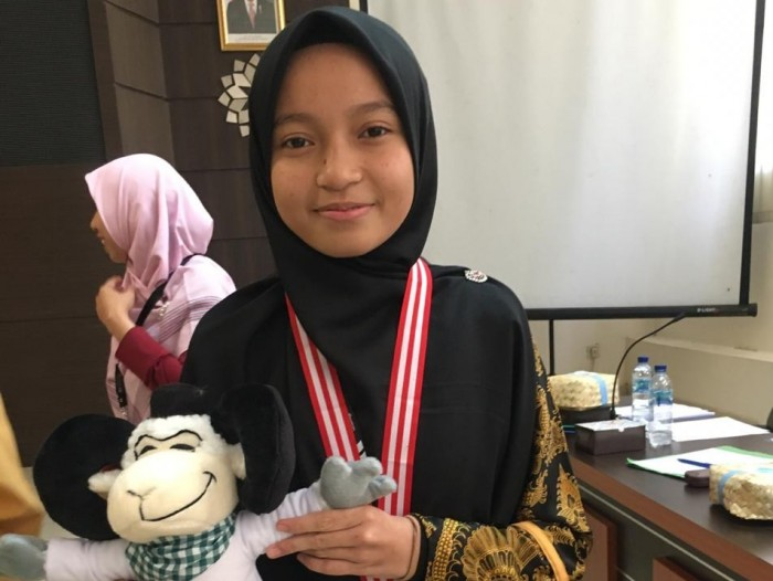 Khaira Kamila, Murid Jeumala Amal Juara 3 Pidato Bahasa ...