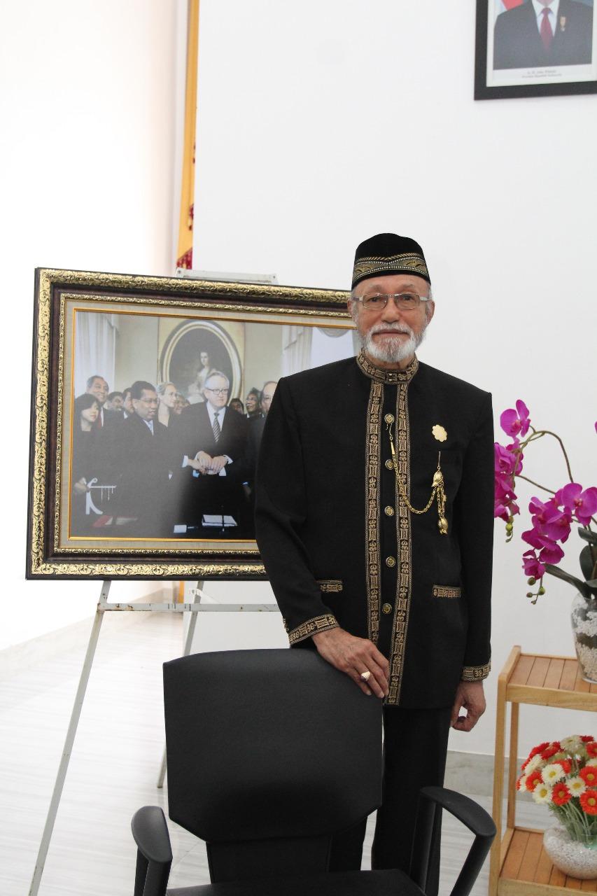 Wali Nanggroe PYM Tgk Malik Mahmud Al Haytar